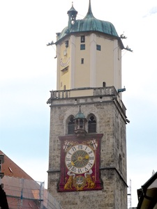 Memmingen St. Martin Turmuhr