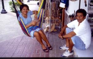 Mexiko Cozumel Haengematte