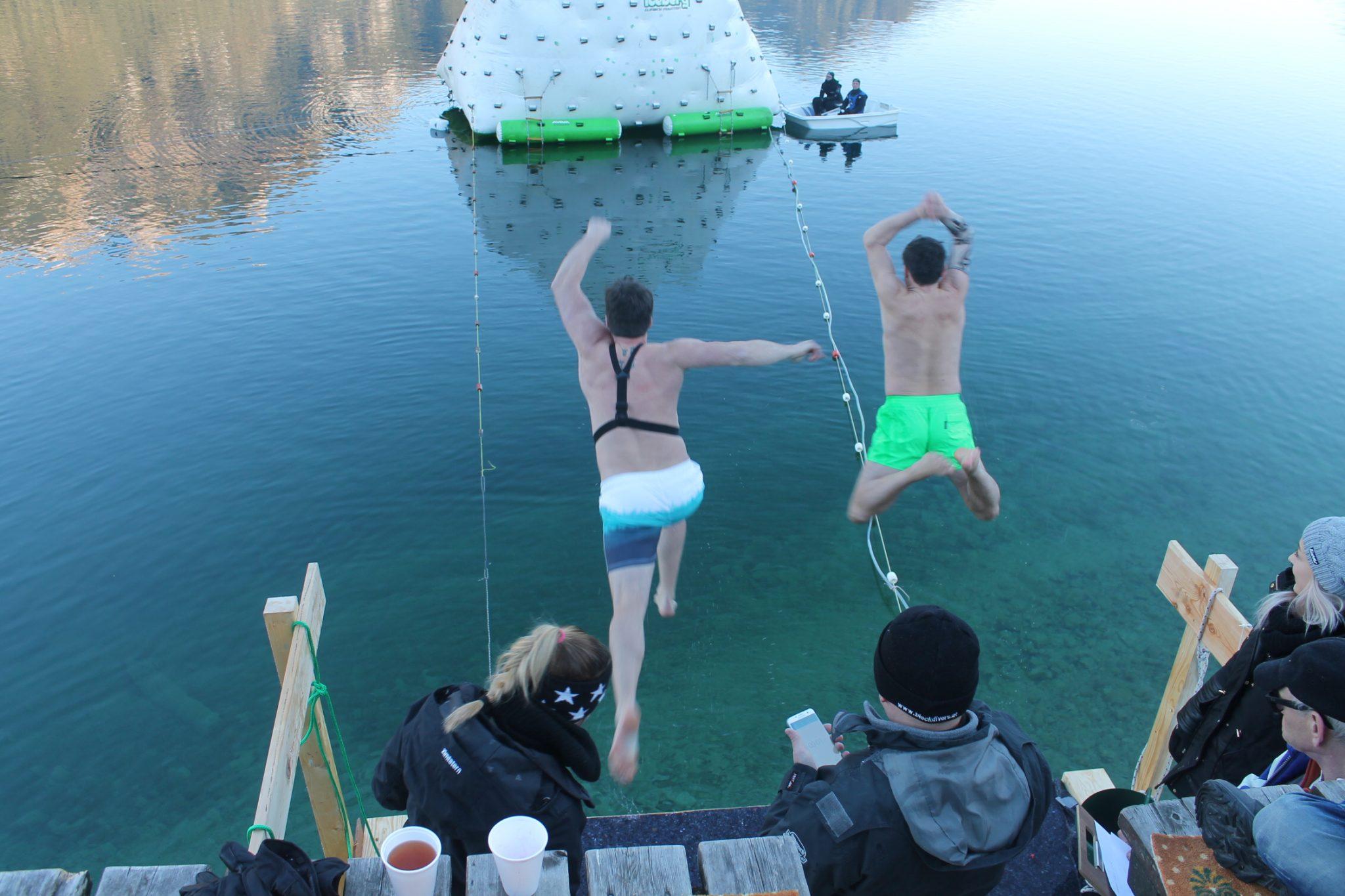 Silvesterschwimmen am Achensee