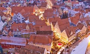 Weihnachtsmarkt in Nördlingen. © Tourist-Information Nördlingen