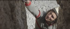 Simon Gietl gehört zu den erfolgreichsten Südtiroler Kletterern. Er spielt im Film die Figur Hans Kammerlander im Alter zwischen 20 und 30 Jahren. Bild: Planet Watch/manaslu-film.com