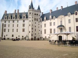 Nantes Schloss der Herzoege