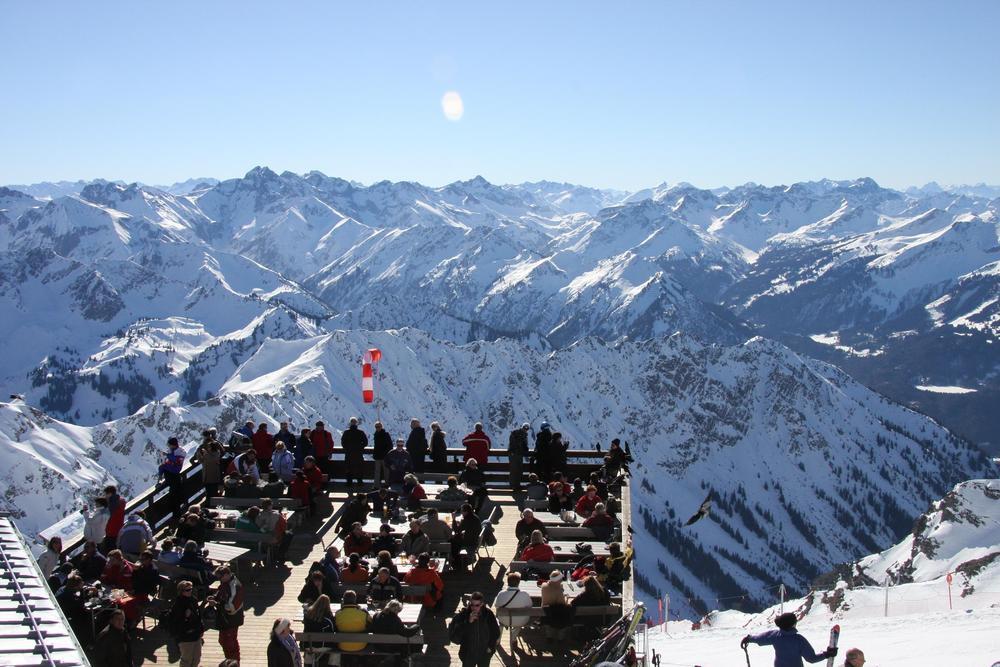 Nebelhorn - Blick auf 400 Berge