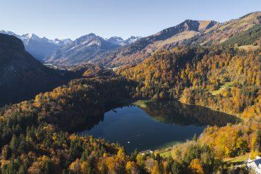 Herbstliche Wanderrouten und Auszeitwochen in Oberstdorf