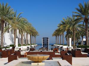 Der mit 103 Metern längste Pool der Arabischen Halbinsel