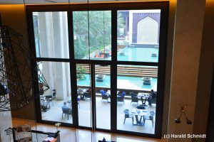 Blick Grand Hotel Hormuz
