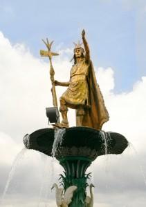 Pachacutec-Statue in Cusco