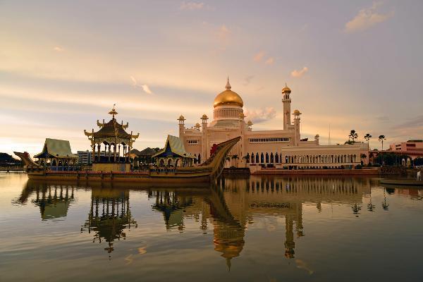 Der Palast von Brunei