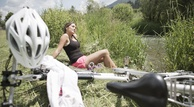 Pause_Radfahren__Dolomiten_Residenz_Sporthotel_Sillian_
