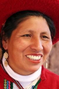 Peruanische Schönheit