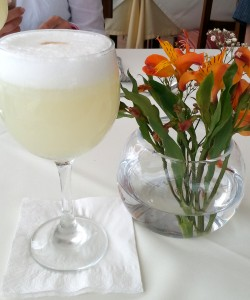 Pisco sour - peruanisches Nationalgetränk