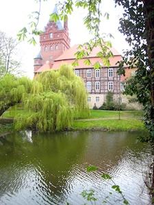 Plattenburg Wassergraben