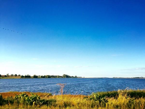 Land und Wasser, Blick über den Heidensee