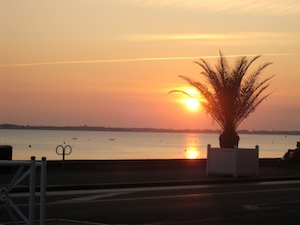 Pornichet Sonnenuntergang