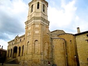Pyrenaeen Roda Kathedrale ganz