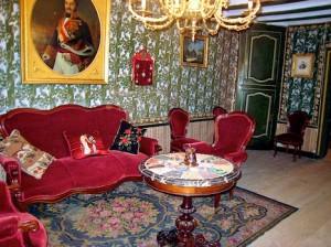 Pyrenaen Benasque Herrenhaus Wohnzimmer (1)