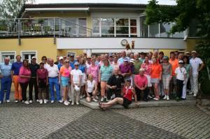 Sturm der Liebe golft für das Hasenbergl