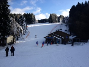 ABGEFAHREN! Ski-Reporter unterwegs. Letzten Sonntag in Winterberg: Powdern am Poppenberg