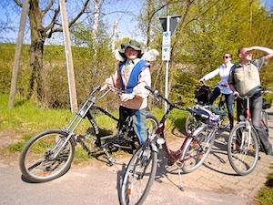 Radfahrer Bischofstour