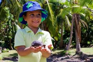 """""""Ranger for a day"""" im Raffles Seychelles."""