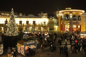 Wintermarkt am Prater
