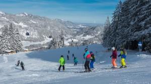 Familien-Skispaß auf dem Söllereck.