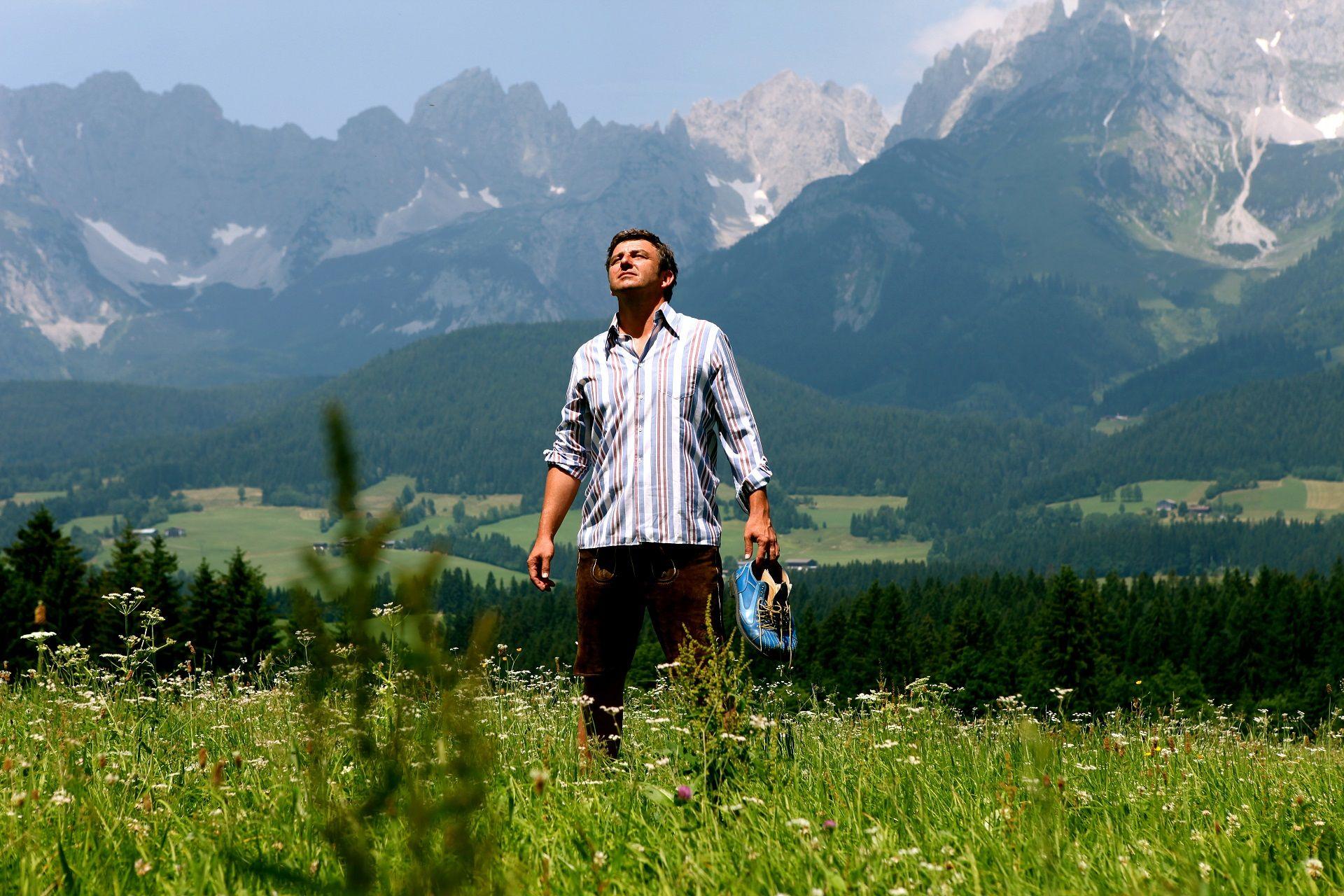 Hans Sigl spielt seit 2007 den Bergdoktor. Foto: ©susannesigl/TVB Wilder Kaiser