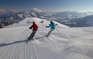 Einschwingen im Ski Juwel Wildschönau. Foto: Wildschönau Tourismus, S. Gruber