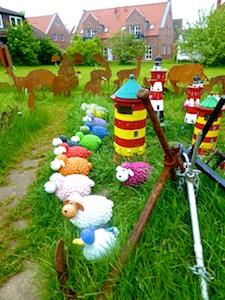 Schaf-Figuren Leuchttuerme Verkaufshits Greetsiel