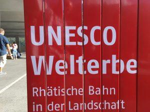 Die Rhätische Bahn mit Glacier und Bernina gehört zum UNESCO - Welterbe, Foto: Weirauch