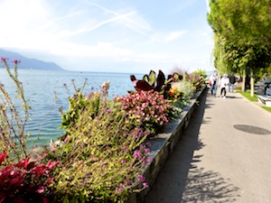 Seepromenade Montreux