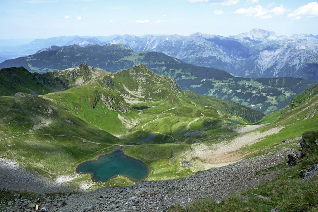 Am Klettersteig im Seetal beginnt die erste Tour. Foto: Silvretta Montafon