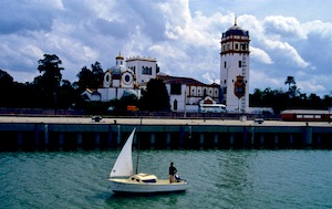 Sevilla Guadalquivir Argentinischer Pavillon  2016-07-05 Foto Elke Backert