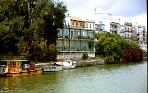 Sevilla Guadalquivir Fischer 2010-03-16 Foto Elke Backert