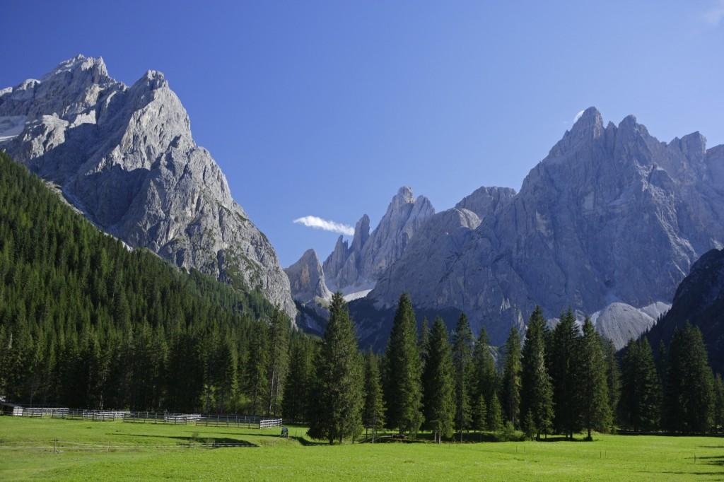 Das Fischleintal ist ein Eldorado für Wanderer. Foto:IDM Südtirol, F. Blickle.