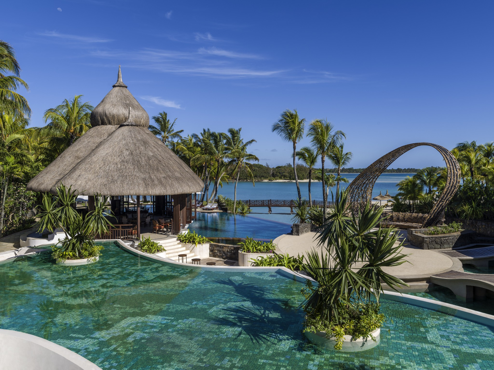 Ideal für einen Familien-Urlaub: Shangri-La's Le Touessrok Resort & Spa auf Mauritius.