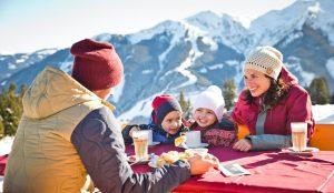 Skifahren macht hungrig
