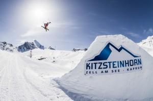 Im Showpark zeigen die Skiartisten ihre Künste