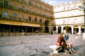 Spanien Salamanca Plaza Mayor