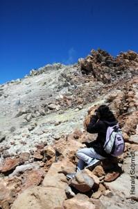 Spitze des Teide