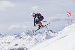 St. Moritz vor der Alpinen Ski WM