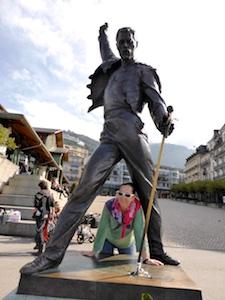 Statue Freddie Mercury Fan Montreux   2015-10-11 Foto Elke Backert