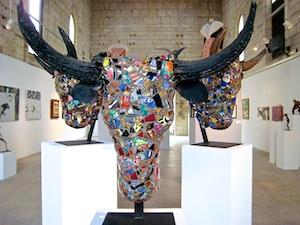 Stier-Ausstellung