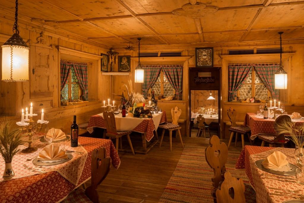 Die Alten Stuben stammen aus dem 13. Jahrhundert. Foto: Bad Moos.