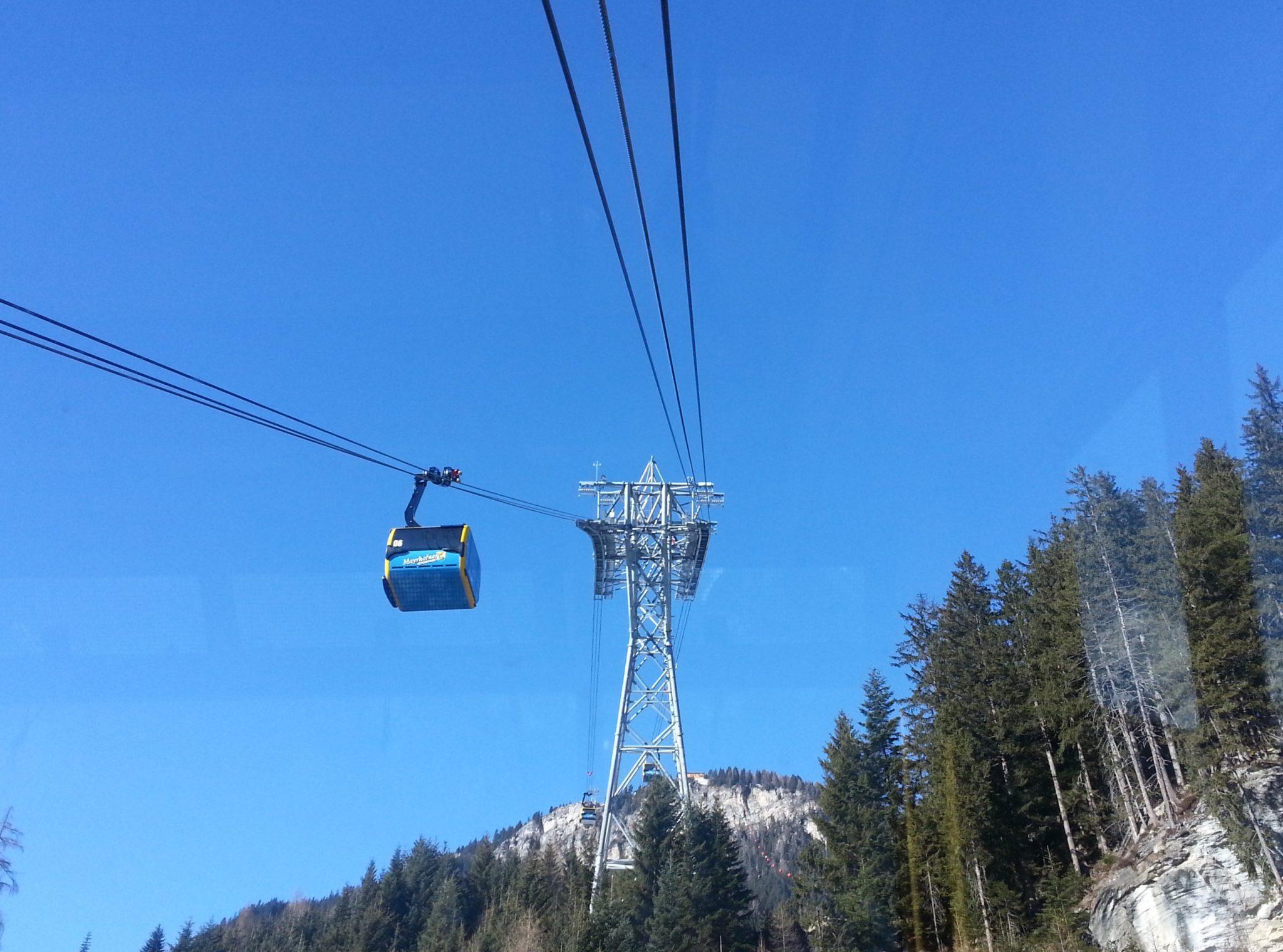 Penkenbahn ins Skigebiet