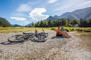 Radeln in Oberbayern: Cruisen und Strampeln, Baden und Staunen