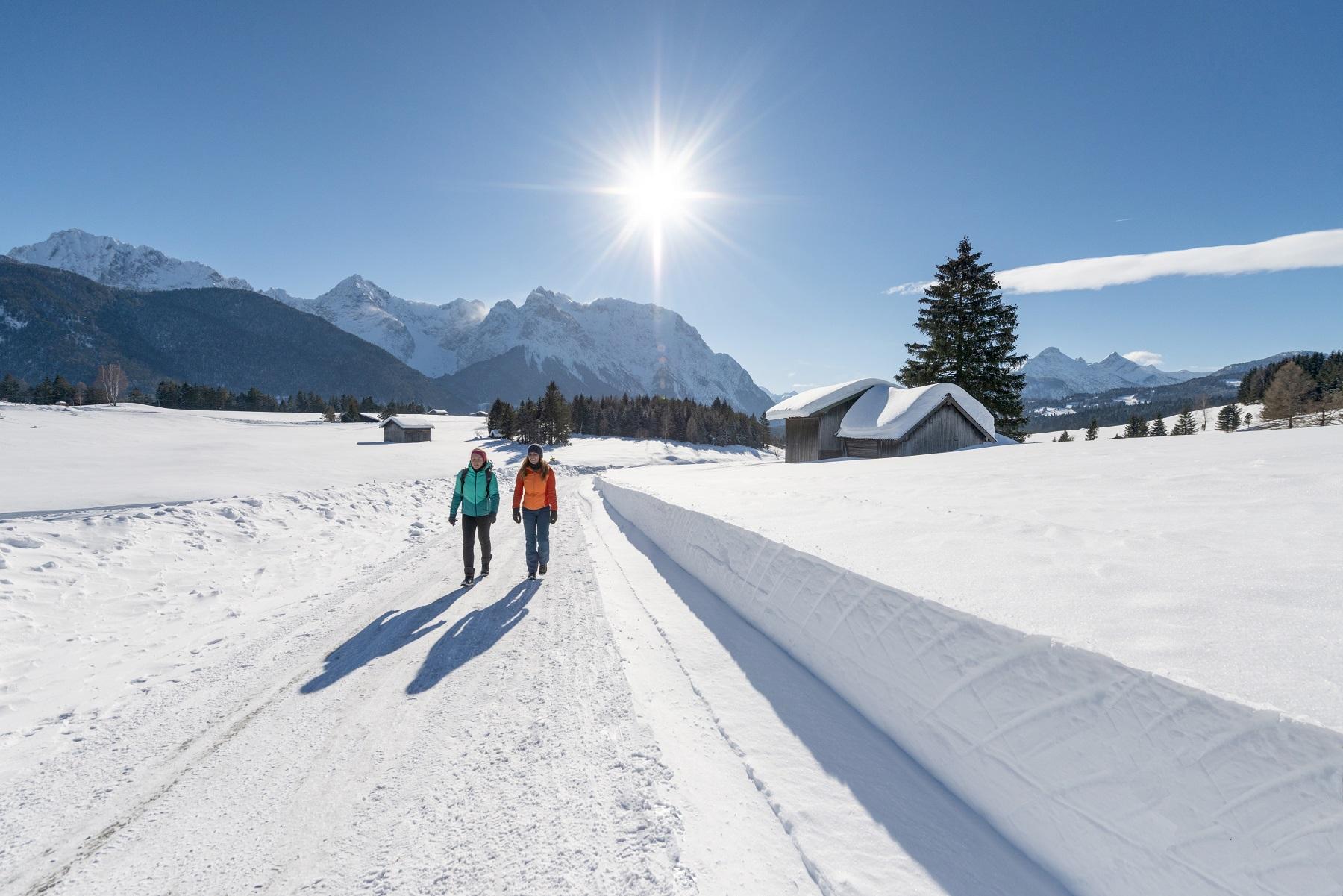 Winterliche Auszeit in Oberbayern