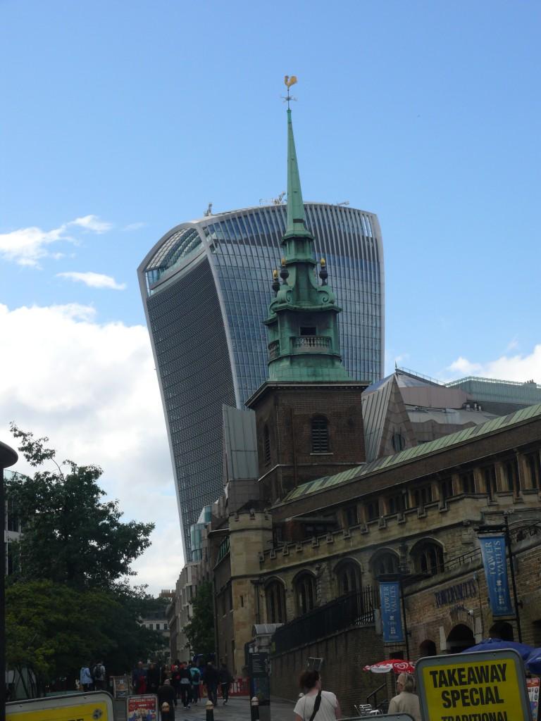 The Shard in der City, dem Finanzbezirk Londons