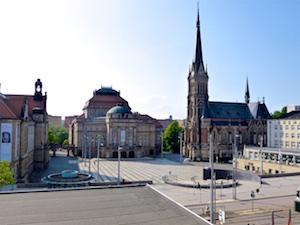 Theaterplatz Chemnitz  2016-05-27 Foto Elke Backert