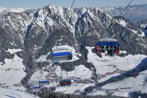 Das Ski-Juwel Alpbachtal Wildschönau hat 46 Bahnanlagen. Foto: Grießenböck.